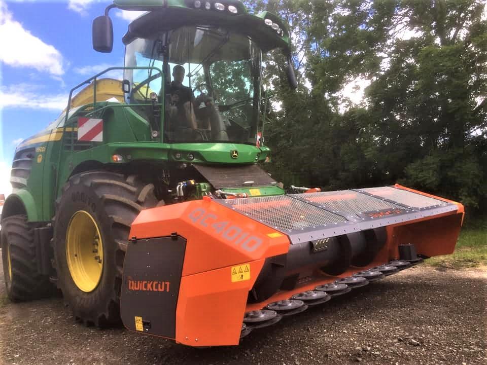 QuickCut 4010 Whole crop header for John Deere & Claas jaguar