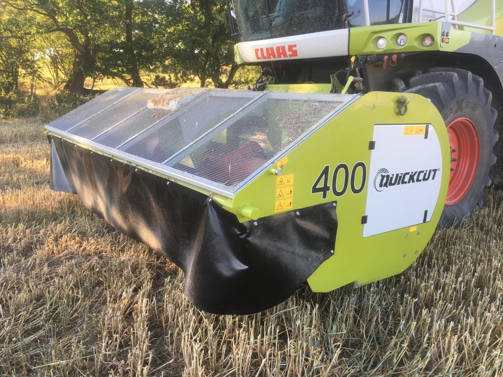 Quickcut GB 400 whole crop harvester