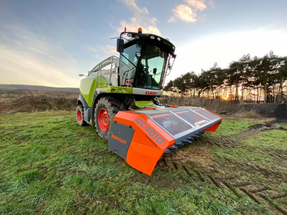 Quickcut GB 4010 whole crop harvester
